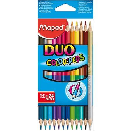 Maped Color'Peps Kuru Boya  12li   24 renk